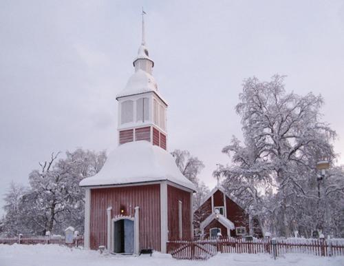 Jukkasjärvi kyrka