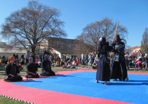 Enighet Kendo Demonstration