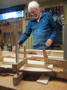 building Nyckelharpa