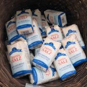 Salz von Saline in Göttingen
